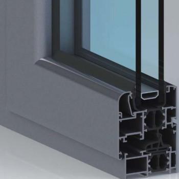 阿朗 铝合金门窗60系列