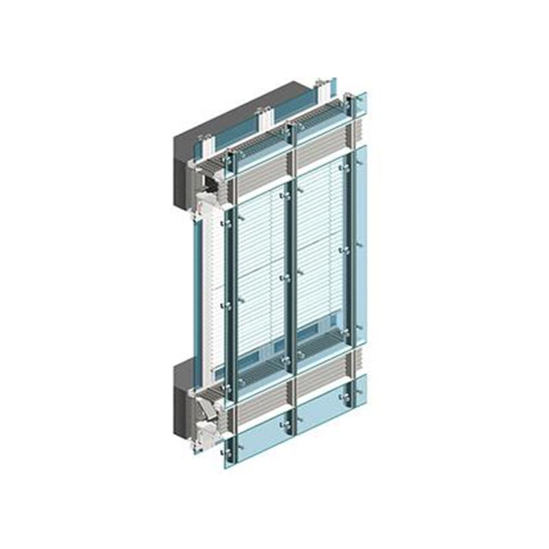 材料商城_幕墙_构件式/单元式_明框玻璃幕墙_西飞世纪 单元式幕墙